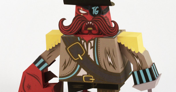 Blog_Paper_Toy_papertoy_Captain_Crab_Sparrow_Tougui