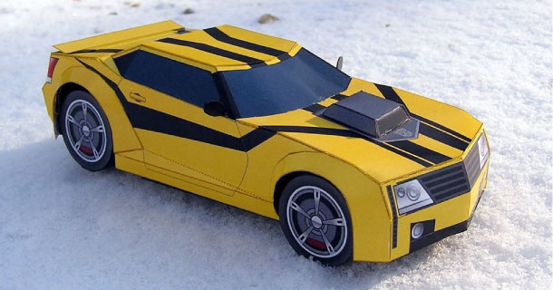Blog_Paper_Toy_papercraft_Bumblebee_ProjectKITT