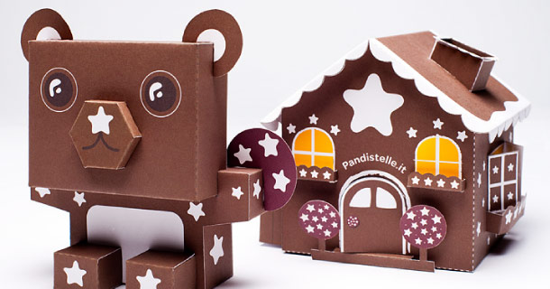 Blog_Paper_Toy_papertoys_Orsetto_Casetta_Pan_Di_Stelle