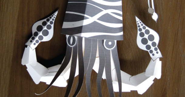 Blog_Paper_Toy_papercraft_Squid_Brave_Face_Paper
