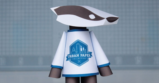 Blog_Paper_Toy_papertoy_UPC_Badger