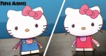 Hello Kitty by Paper Minions