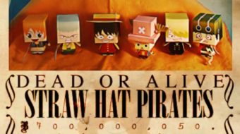 Papertoys One Piece (x9) by Kobico