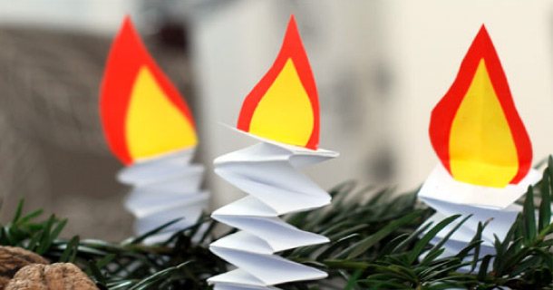 Paper Candles de Krokotak