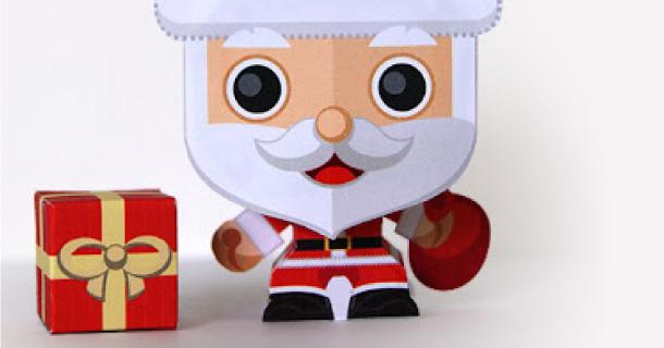 Mini Père Noël de Gus Santome