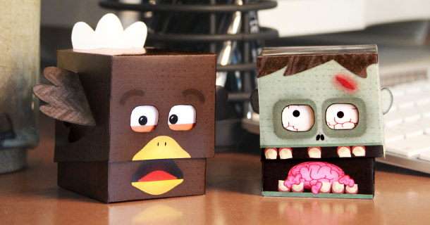 Paper Desk Toys de Creativello